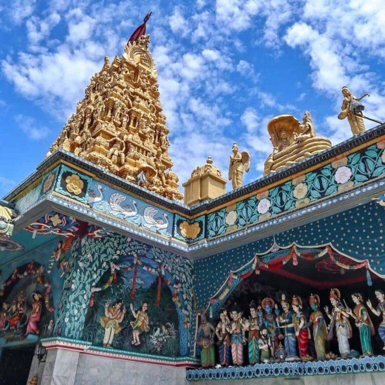Kuil Shri Maha Mariamman Bukti Keragaman Beragama di Medan 768x768