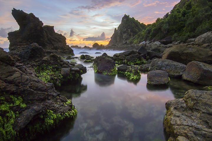 Rute menuju Pantai Watu Lumbung