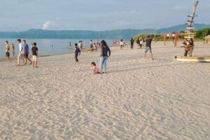 Wisata Baru Pantai Sigurgur di Samosir, Puas Nikmati Olahraga Air